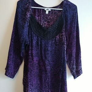 Dress Barn women's tunic top